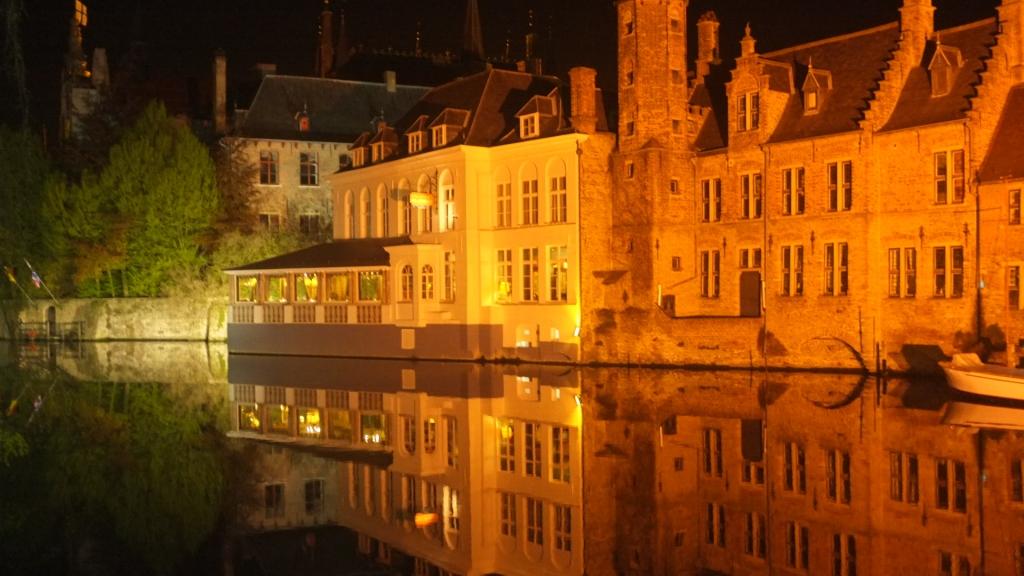 Bruges de nuit, Bruges at night