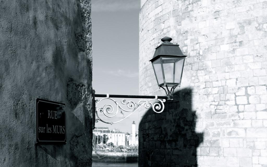 Black & white la Rochelle